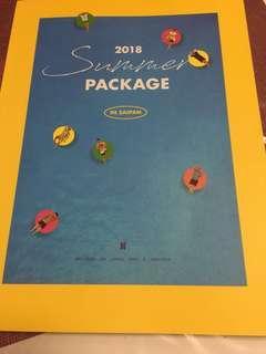 Unsealed 2018 Bts summer package in Saipan ( PHOTOBOOK)