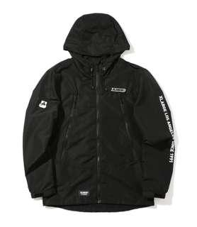 🚚 XLARGE黑色風衣外套,size:M,Rain jacket,NT2,100元