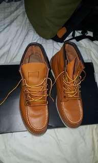 RED WING 875 SHOES, ( MADE IN USA )