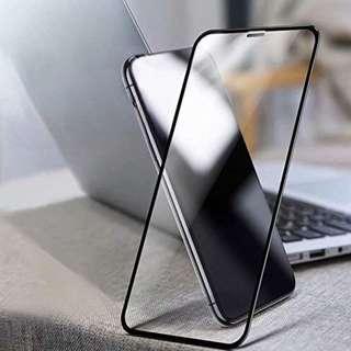 "iPhone Xs Max 6.5吋 6D 曲面鑽石保護貼 防塵設計 黑色 全屏100% 覆蓋鋼化防爆玻璃保護貼 6.5"" 6D Curved 9H Hardness 100% Full coverage tempered glass Black Colour ( 包除塵淸㓗套裝 ) ( With Cleaning Set ) 2018"