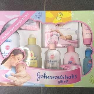 Johnson & johnson gift set