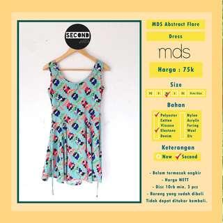 MDS Abstract Flare Dress