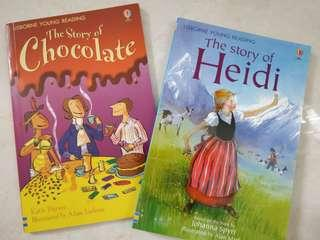 Story books $30 for 2 New