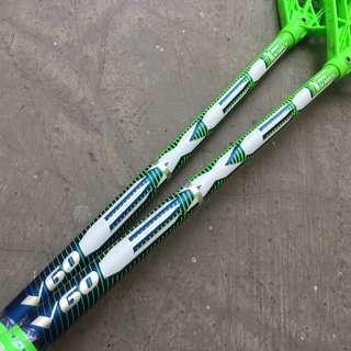 Floorball Stick EXEL Vision V60 29 Oval Green 95/98cm with Medium Vision Blade