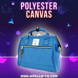#POPULAR 【Anello Polyester Canvas 2-Way Sling Bag - Blue】 AT-H0852 | 100% Authentic #anello #slingbag #shoulderbag #bostonbag