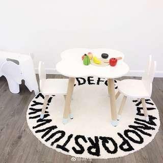 MINI ME Fun Kids table and chairs set.