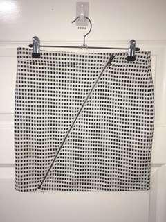 Checkered Skirt Size 8