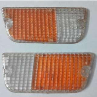 lens signal depan datsun pickup 620 kiri kanan sepasang