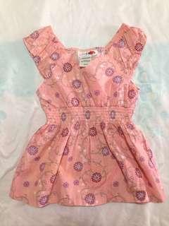 LemonKiss Pink Floral Top
