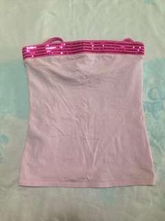 Justice Pink Glitter Top