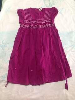 Red Violet Dress
