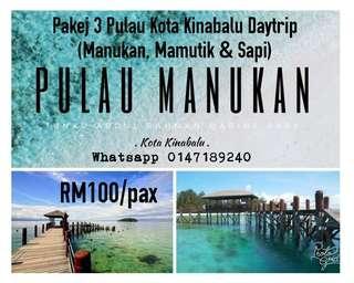 Daytrip Pakej 3 Pulau KK Sabah