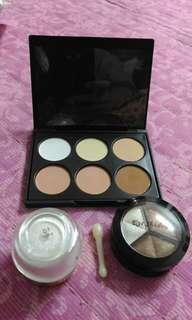 eyeshadow glitter /plain powder