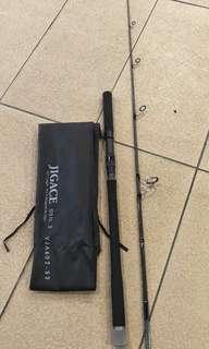 Jigging and bottom rod