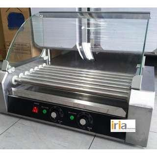 Hotdog Roller with Glass Cover (Brand New)