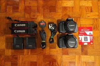 Canon 600D | 18mp with HD video