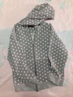 Carters Mickey and Minnie Mouse Gray Jacket