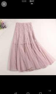 Inc pos tulle skirt
