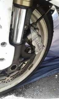Brembo front brake caliper 108mm