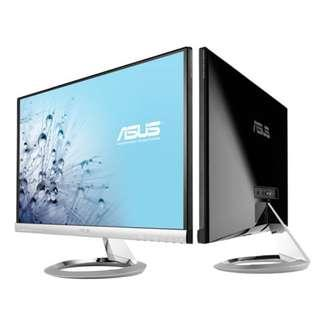 """ASUS Designo MX239H Monitor, 23"""" FHD (1920x1080), IPS, Audio by Bang & Olufsen, Frameless"""