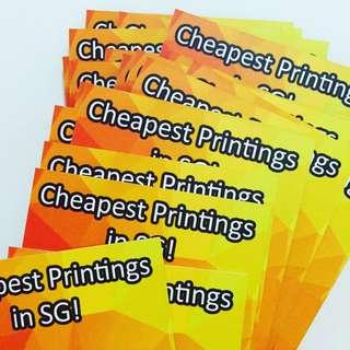 Print Business cards & Flyers