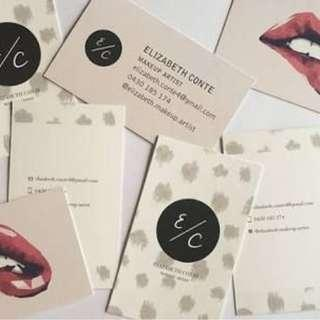 Professional Name Card Business Card Printing