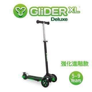 🚚 Yvolution Glider XL Deluxe 三輪平衡車-進階款(摩登綠)