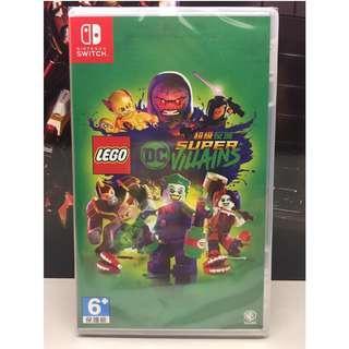全新 NS 任天堂 Nintendo Switch LEGO DC SUPER VILLAINS 超級壞蛋 行貨中英合版