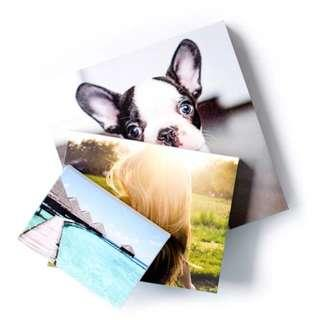 Personalised your own Canvas Printing