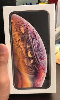 Brand New Iphone XS 256GB Gold Unsealed