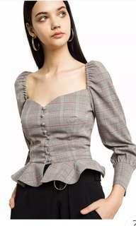 Inc pos Victorian blouse