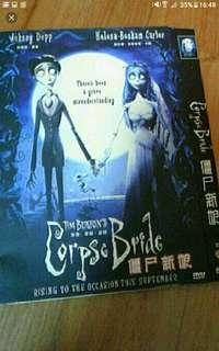 Tim burton Corpse of the Bride   Dvd Victor (Johnny Depp) and Victoria's (Emily Watson) families have arranged their marriage. Thoug