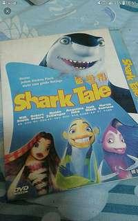 Childrens dvd  Cartoon Animation Shark tale    Pick up hougang buangkok mrt Or add $1 for postage