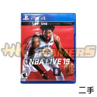 PS4 NBA LIVE 19 The ONE Edition 英文 二手