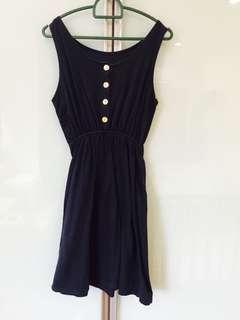 🆓Dark Blue Casual Dress