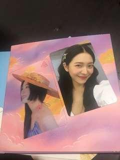 Red Velvet Irene Transparent and Yeri Limited
