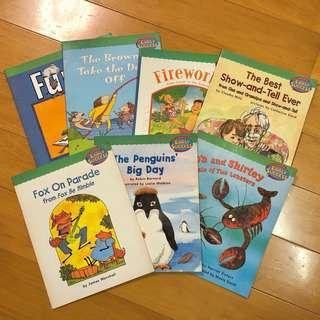幼兒英文故事書 全7本 合共$28 Reading Intervention For EARLY SUCCESS - Houghtin Mifflin 出版