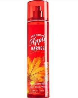 Suncrisp Apple Harvest Bath and Body Works