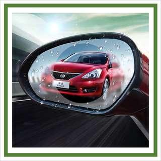 Car Rear Mirror Anti Rain Anti Fog Anti Glare Waterproof Film Membrane
