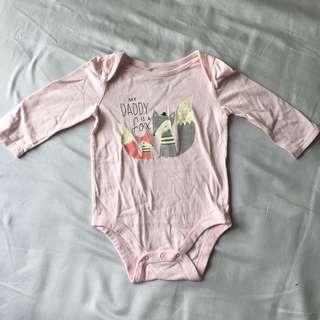 Gap baby bodysuit長袖夾衣