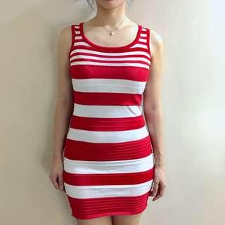 Red bodycon sexy dress for Christmas party