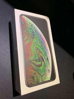 Apple蘋果iPhone xs max 64g 全新未拆