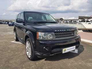 Land Rover RANGE ROVER SPORT 5.0L (New 10-yr COE)