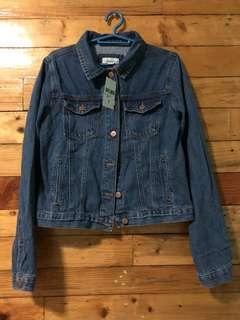 Forever 21 dark blue denim jacket
