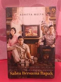 NOVEL MURAH 'Sabtu Bersama Bapak' by Adhitya Mulya