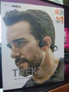 Aftershokz Trek Air BT Headset Grey