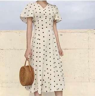 Polkadot 70's dress