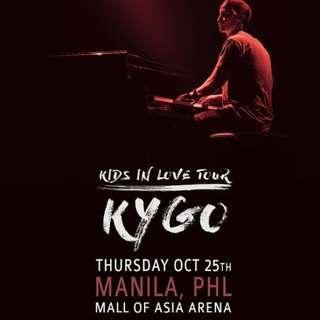 VIP Standing Tickets KYGO Manila #kidsinlovetour