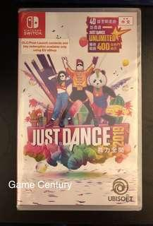 全新 Switch Just Dance 2019 中英文版