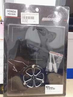 Honda Rs150 Alloy Sprocket Cover (Black)